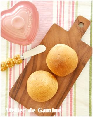 ロースト小麦胚芽入りのプティ・パン
