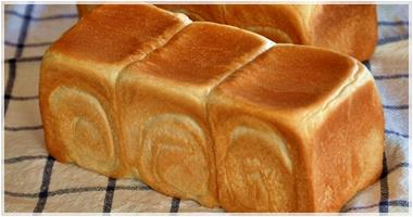 国産小麦粉の食パン