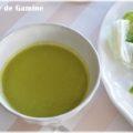 【レシピ】グリーンピースのポタージュ・色をきれいに保つコツ